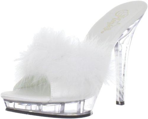 Fabulicious Lip-101-8 sexy High Heels Mini-Plateau Mules