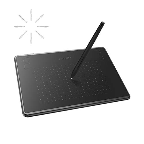 HUION Inspiroy H430P OSU Graphic Drawing Tablet with Battery-Free Stylus 4 Press Keys, Compatible with Chromebook, Android, Windows and Mac