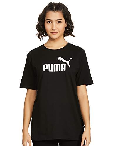 Puma Women's ESS Logo Boyfriend Tee - Puma Black