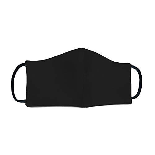 Daniel Patrick Adult Reusable Face Mask - Black-L/XL