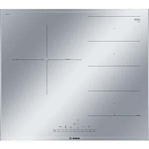 Bosch Serie 6 PXJ679FC1E Integrado Con – Placa (Integrado, Con placa de inducción, Gris, Metálico, LED, Tocar, Frente)