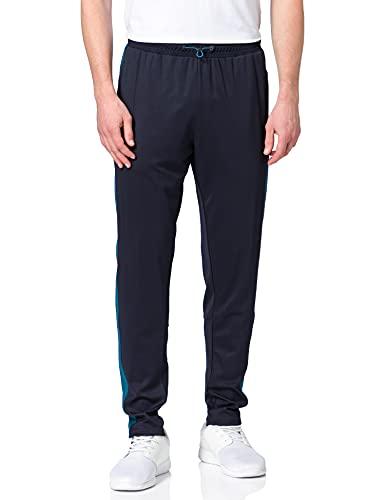 HUMMEL Unisex-Adult HUMMEL ACTION TRAINING PANTS Sweatpants, DARK SAPPHIRE/BLUE CORAL, XL