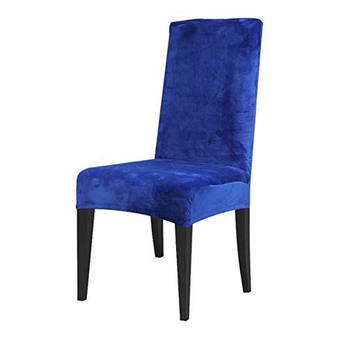 YGLONG Stuhlhussen 2 Stück Dining Chair Abdeckung Spandex Stretch-Stuhl-Abdeckung-Stuhl-Abdeckung Amt Hochzeit Restaurant Stuhl-Abdeckung Stretch (Color : Teal Blue, Specification : Universal)