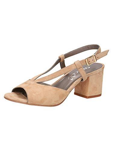CAPRICE Femmes Sandale à Talon 9-9-28309-26 462 Largeur G Taille: 40 EU