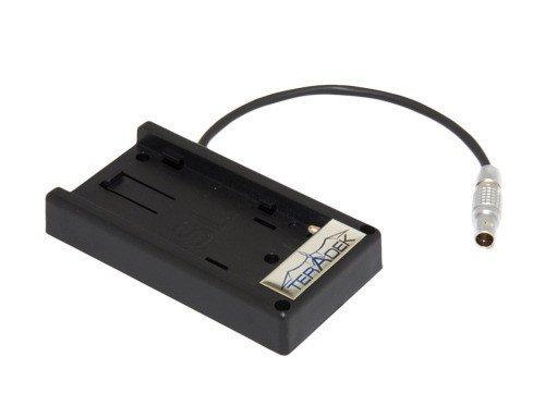Inc  Battery Adapter Plate for Sony L Series 7.2V Batteries to 2-Pin Lemo (Black) - Teradek Bit-635