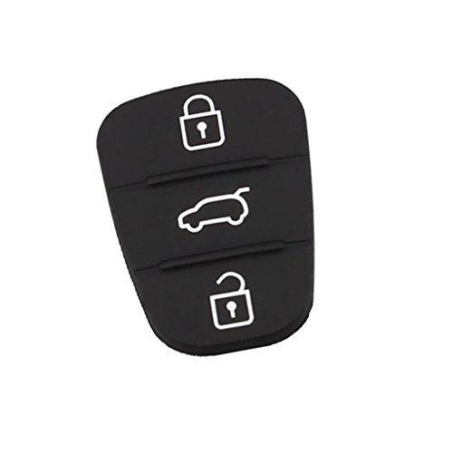 perfeclan Coche Botones Carcasa de la Caja de la Clave remota Funda para Hyundai I30 IX35 Kia K2 K5