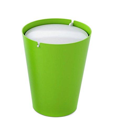 Outlook Design Smarty II Bin Mülleimer mit Schwingdeckel grün