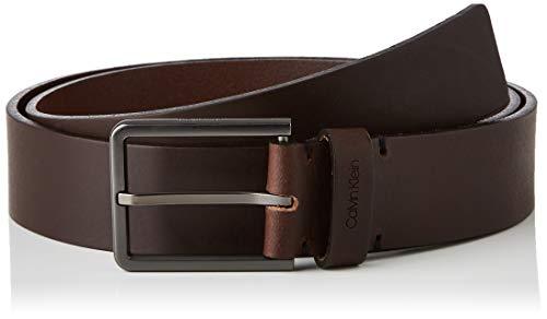 Calvin Klein 3.5cm New Essential Belt Cintura, Marrone (Brown Baw), 7 (Taglia Produttore: 95) Uomo