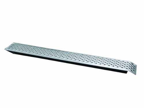 Unitec 10321 Auffahrrampe Stahl 150 x 22 cm