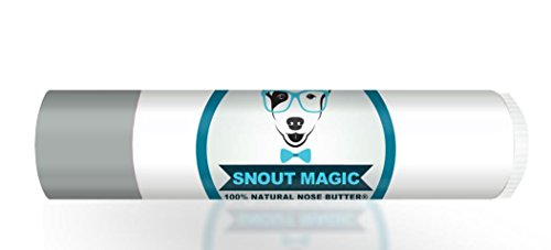 Snout Magic Mini: 100% All Natural Dog Nose Butter & Balm (.15 oz) Soothes Dry & Cracked Dog Snouts Like Magic! Proven to Cure Dog's Dry Rough Crusty Nose & Hyperkeratosis Made in USA (Pack of 1)