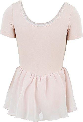 Bloch 5342 Tiffany Ballet-Trikot für Kinder Rosa - Jahre 6-7