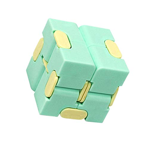 Infinity Cube Fidget Toy, Puzzle Cube Mini Fidget Urable Descompression Cube Fidget Toy Puzzle, Ejercicio para dedos Minitool Magic Cube para niños y adultos