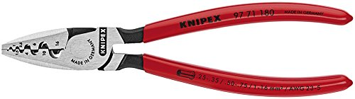 KNIPEX 97 71 180 Crimping Pliers For Cable Links