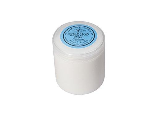 Crème Mains Pêcheur 250g. Fabriqué par Elegance Natural Skin Care en Grande-Bretagne. Travailler à l'extérieur? Mains dans et hors de l'eau?