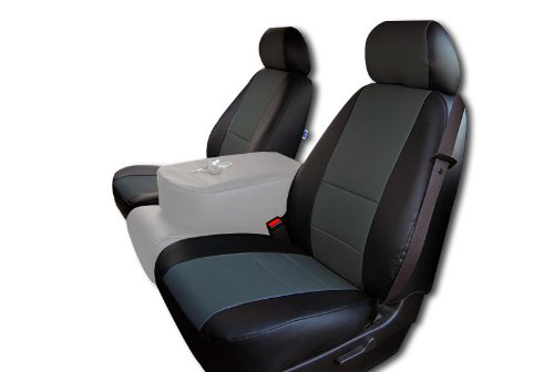 Terrific Chevy Avalanche Black Charcoal Artificial Leather Custom Fit Caraccident5 Cool Chair Designs And Ideas Caraccident5Info