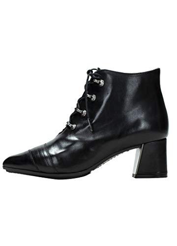 HISPANITAS HI00757, Botines de Tacon, para Mujer, Color Negro. - Cuero Talla: 38