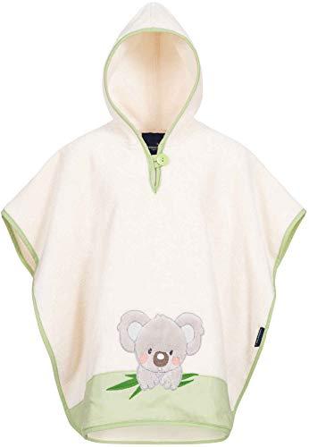 Morgenstern Koala - Poncho da bagno per bambini, colore: Verde