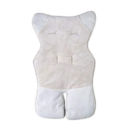 Rubyu-123 Colchoneta de Silla Paseo para Bebés, Almohada Universal para Carrito de Compras Pequeños, Protector de Carrito de Compras, Cojín Reductor Algodón de Asiento Funda de Asiento para Niños