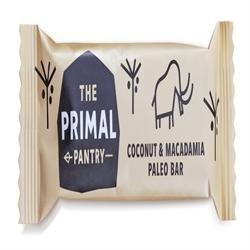 The Primal Pantry Coconut & Macadamia Paleo Bar 45g x 18