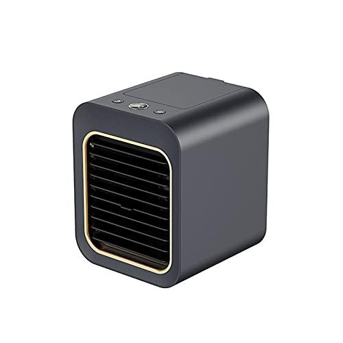 riou Enfriador de Aire Móviles Mini Aires Acondicionados Silencioso, Climatizador Evaporativo Portátil 4 en 1 con Refrigeración por Agua, Humidificador