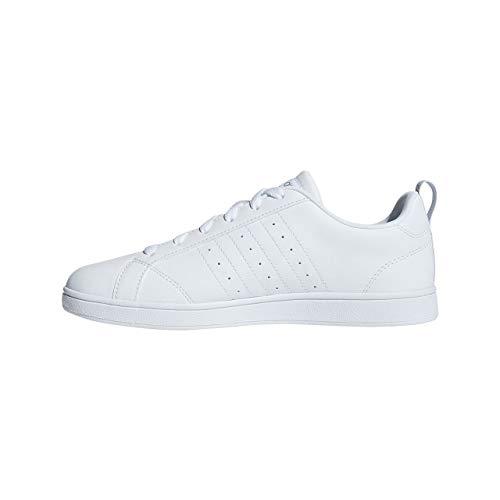 adidas Vs Advantage, Scarpe da Fitness Donna, Bianco (Ftwbla/Plamet/Ftwbla 000), 36 2/3 EU