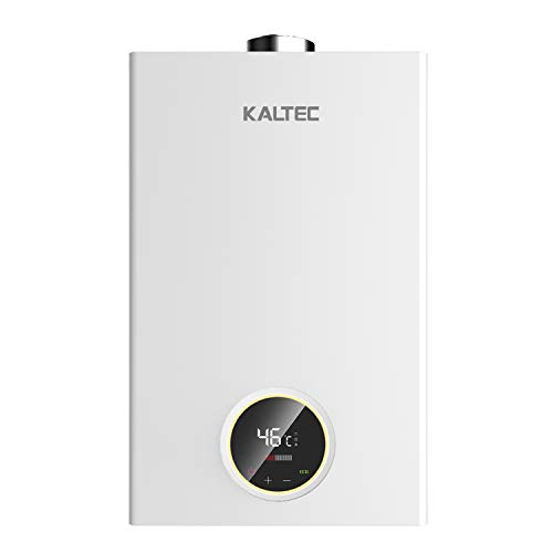KALTEC KCE-11B Calentador de Agua de Butano Protane Gas Calentador de Agua Calentador Automatico LED Digital Calentador de Agua Instantaneo Propane 11L [Clase de eficiencia energetica A]