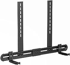 """USX MOUNT Universal Soundbar Mount, Sound Bar TV Bracket for Soundbar with Speaker, Fits 2 Installation Options, Removable No-Slip Base Holder Extends 3.46""""-6.06"""""""