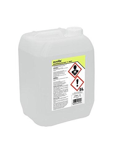 Eurolite Smoke Fluid -P- Profi 5 Liter   Nebelfluid für Nebelmaschinen   Hohe Dichte und lange Standzeit   Made in Germany   Geruchsneutral auf Wasserbasis   Biologisch abbaubar
