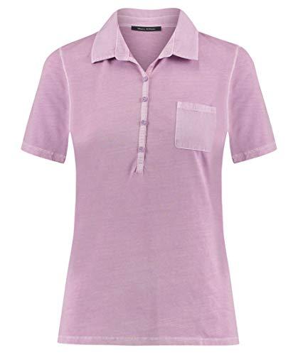 Marc O'Polo Damen 904205553037 Poloshirt, Violett (Light Lavender 617), Small
