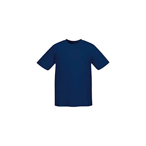 MISEMIYA - Camiseta Uniforme Laboral Industrial Taller MECÁNICO TÉCNICO Fontanero ALBAÑIL- Ref.001 - L, Azul Marino