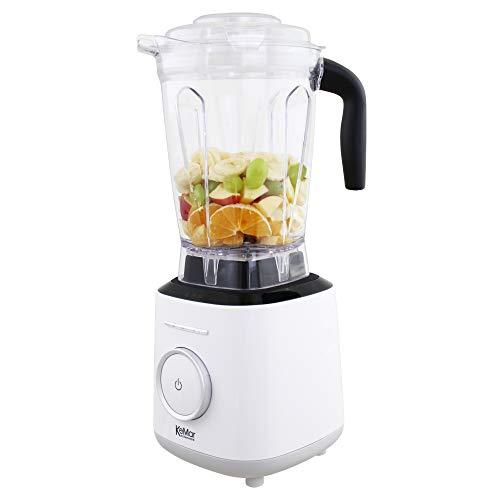 KeMar Kitchenware KSB-300 Standmixer | Hochleistungsmixer | Mixer | Touch Bedienung | 2 Liter | BPA-frei |6 Programme (Milch Weiß)