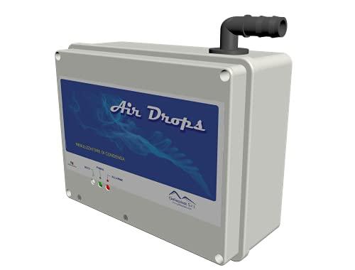 takestop Nebulizzatore DI Condensa per Climatizzatore Air Drops Completo DI Accessori Con Sensore Start Pompa E Max Livello per Condizionatore
