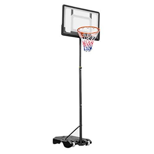 LZL Portátil Mover Basketball Hoop GOL Sistema de Baloncesto Equipo de Baloncesto Altura Ajustable Tablero y Ruedas para niños (Color : Children)