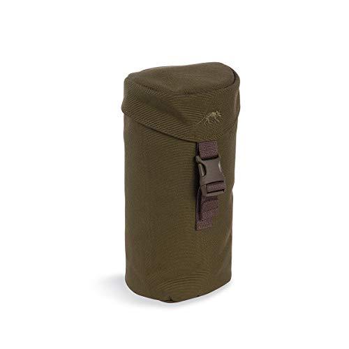 Tasmanian Tiger TT Bottle Holder 1L Isolierte, gepolsterte Molle-System Trinkflaschen-Tasche Rucksack Flaschenhalterung kompatibel mit 1l-Flasche von Nalgene, Oliv
