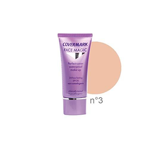 Covermark Face Magic Tubetto Fondotinta Colore 3, Confezione di 30 ml