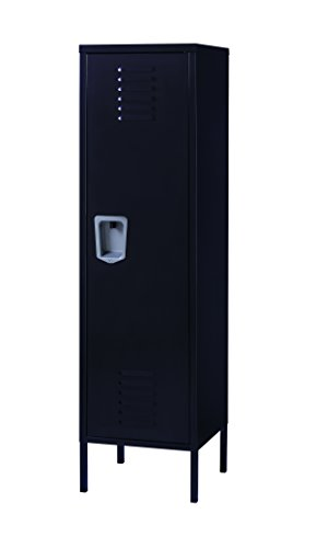 Office Dimensions Personal Locker Storage Cabinet, Black