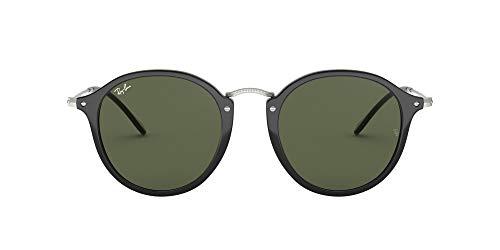 Ray-Ban 0Rb2447 Gafas de sol, Black, 52 para Hombre