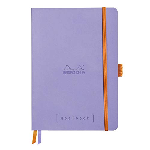 Rhodia Goalbook Journal, A5, Dotted - Iris
