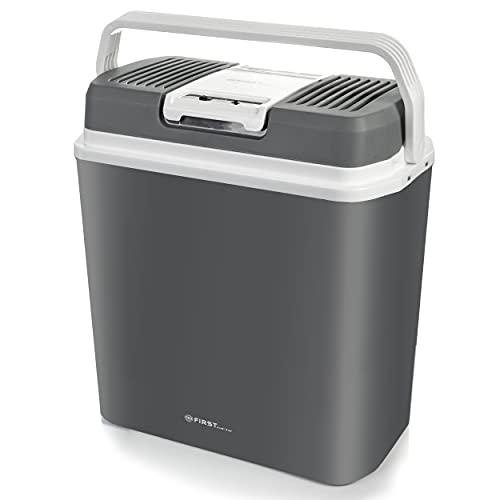 TZS First Austria tragbare elektrische Kühlbox, 24L, Abkühlung auf -18 ° C, Mini-Wärmer zum Warmhalten von Lebensmitteln bis 65 ° C, Mini-Kühlschrank, mobiler Wärmer 220-240 V