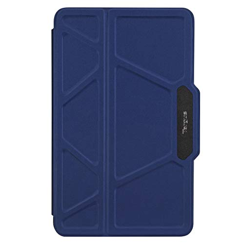 Targus Pro-Tek Rotating - Flip cover for tablet - rugged - polyurethane, faux leather - blue - for Samsung Galaxy Tab S4 (10.5 in)