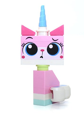 The LEGO Movie - Sitting Unikitty Minifigure with 2 Facial Expressions (Curious/Teary) from set 70818 by LEGO
