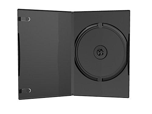 MediaRange BOX13–50Schutzhüllen für DVD, CD und Blau Ray, Typ Slim-7mm, mit transparentem Einschub für Cover