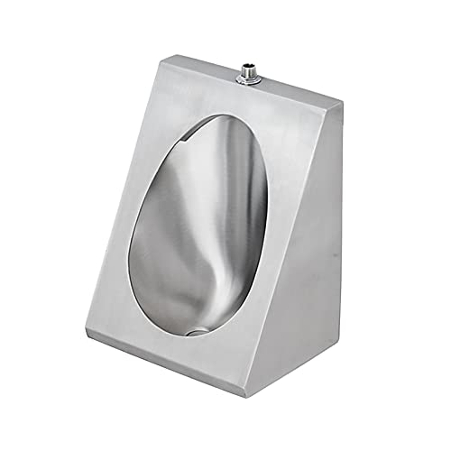 Household items 304 Stainless Steel urinals, Induction Wall-Mounted Drainage Public Toilet urinals, Square Wall-Mounted Men's urinals, Bathroom Accessories for Homes, Hotels, Schools