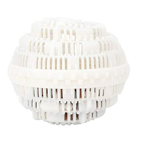 Bola de lavandería reutilizable, bola de limpieza de ropa, bolas de lavado, bola de limpieza de lavandería para lavadora(white)