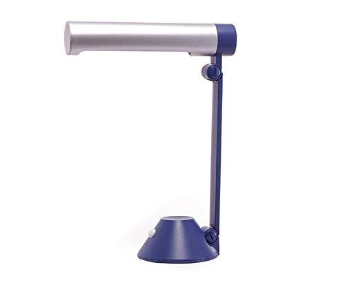XINKONG Lámpara Floding Desk Simple lámpara Ahorro de lámpara de Mesa lámpara de energía Modernos de la Lectura de la lámpara Negro (Color : Blue)