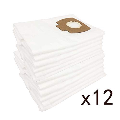 12 sacchetti in tessuto non tessuto per aspirapolvere Hilti VCU40L VCU 40 L 203857 Wet & Dry Dust Collection VC 150-10 X(E) 2121562 VC 300/VC60M/L-X