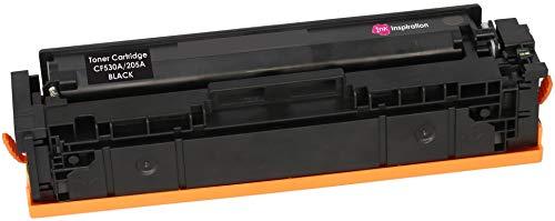 INK INSPIRATION Tóner Compatible con HP 205A CF530A Color Laserjet Pro M154a M154nw MFP M180n M180nw M181fw   Negro