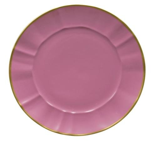 Anna Weatherley Pink Charger Plate