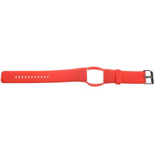 Kaxofang Banda de Reloj de Silicona para Pulsera Polar A360 A370 Correa de MuuEca de Silicona Reemplazo de Pulsera Inteligente para Polar Fitness Tracker Rojo
