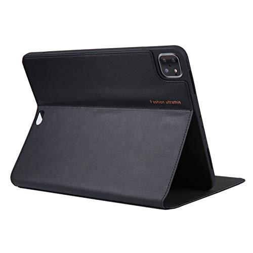 Echtes Leder Schutzhülle für Apple Tablette, Ultra Slim Hülle mit Auto Schlaf/Wach Funktion,Schwarz,iPad Pro 9.7 in